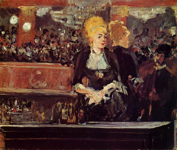 Study for Bar at the Folies-Bergere (Manet)