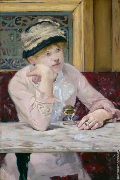 The plum (Manet)