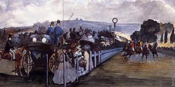 The races at Longchamp (Manet)