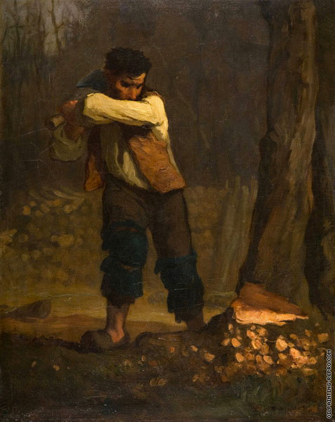 Woodcutter (Millet)
