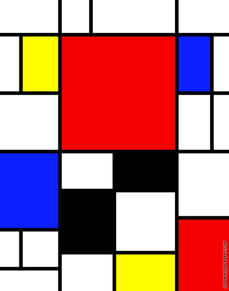 Composition 04 (Mondrian)