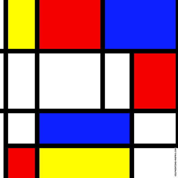Composition 08 (Mondrian)