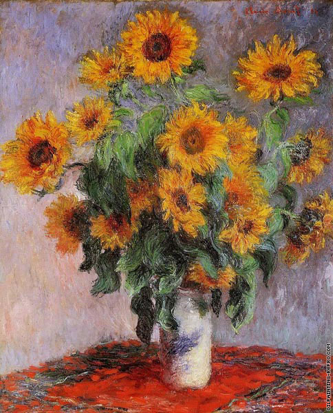 Bouquet of Sunflowers (Monet)
