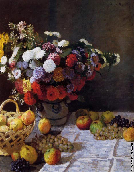 Flowers and Fruit (Monet)