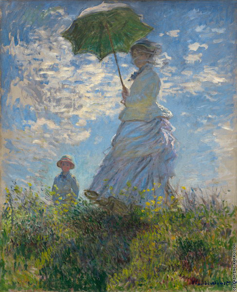 The walk (Monet)