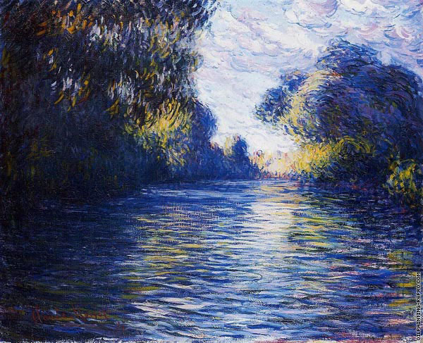 Morning on the Seine (Monet)