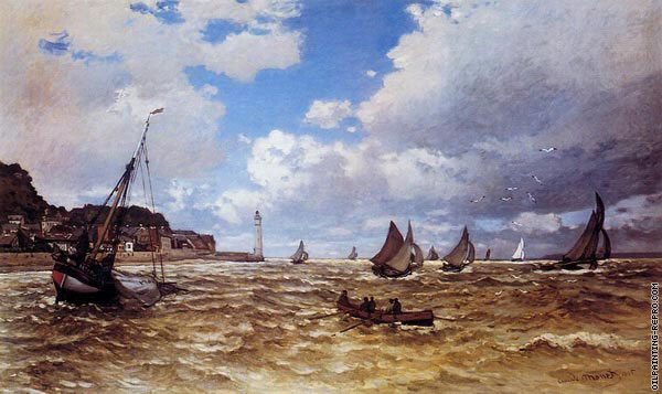 Mouth of the Seine at Honfleur (Monet)