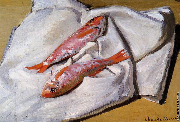 Red Mullets (Monet)
