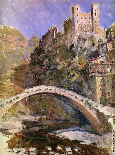 The Castle of Dolceacqua (Monet)