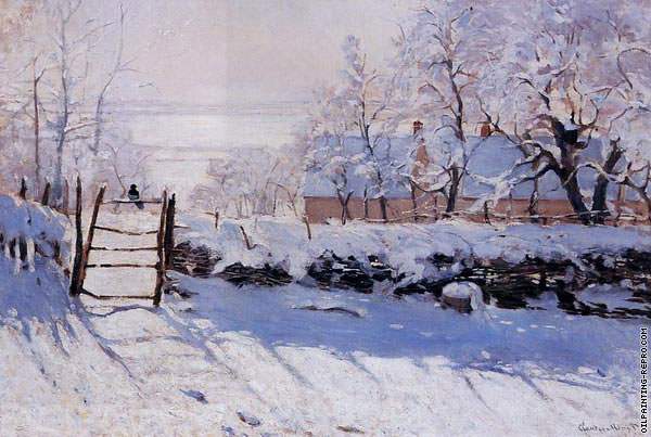 The Magpie (Monet)