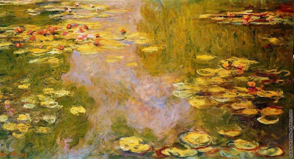 The Water-Lily Pond 3 (Monet)