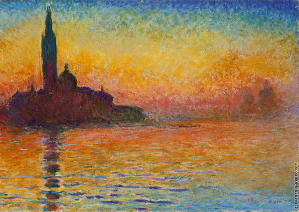 Venice at twilight (Monet)