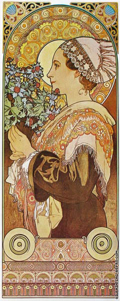 Thistle Sands (Mucha)