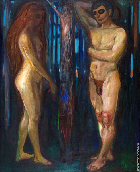 Adam and Eve (Munch)