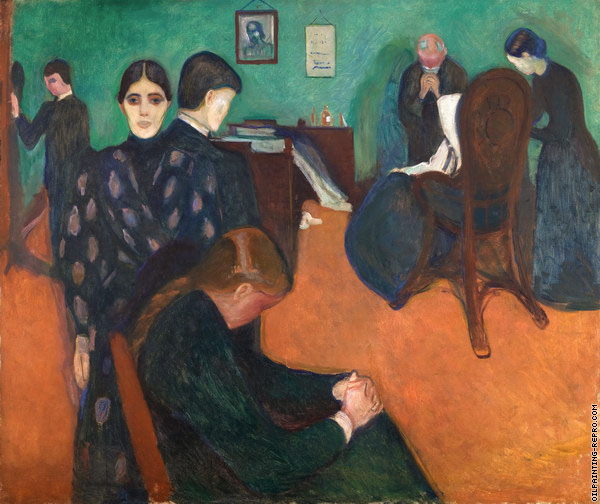 Death in the Sickroom 2 (Munch)