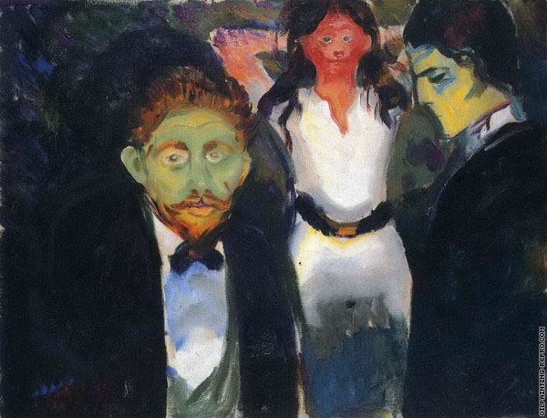 Jealousy - The Green Room (Munch)