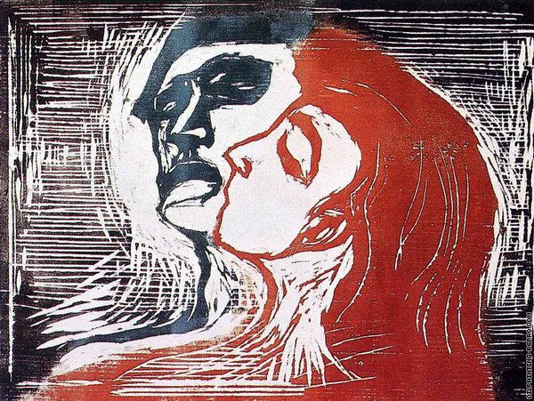 Man and Woman 1 (Munch)