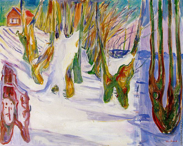 Old Trees (Munch)