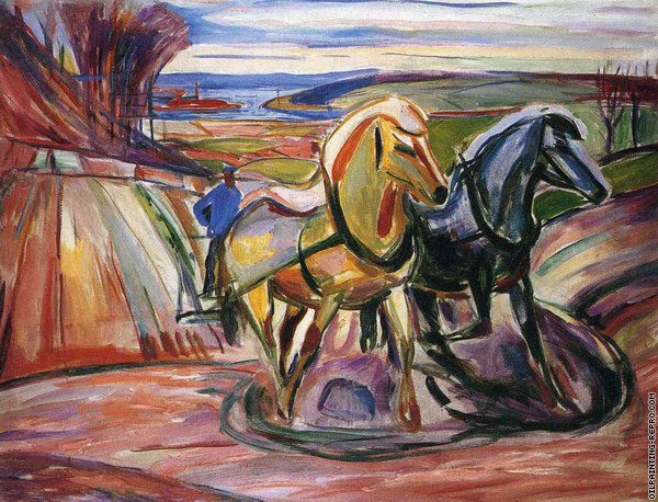 Spring Plowing (Munch)