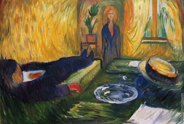 The Murderess (Munch)