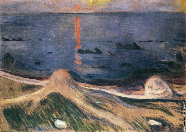 The Mystery of a Summer Night (Munch)