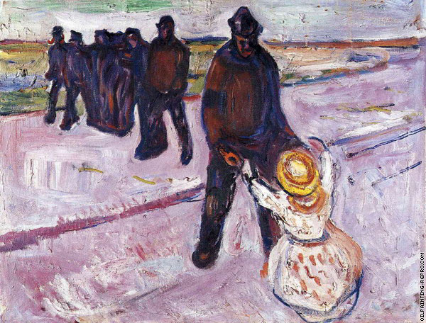 Worker and Child (Munch)