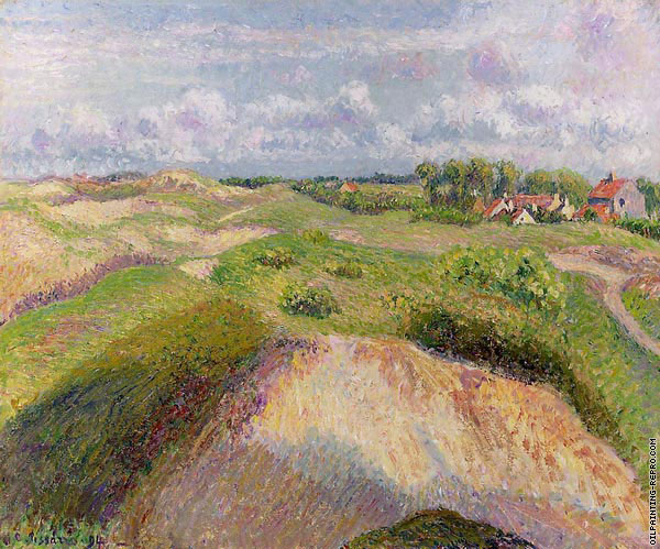 Dunes at Knocke in Belgium I (Pissarro)