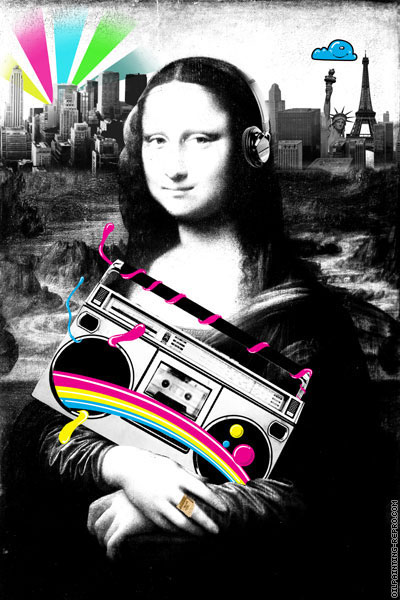 Mona Lisa (Pop Art)