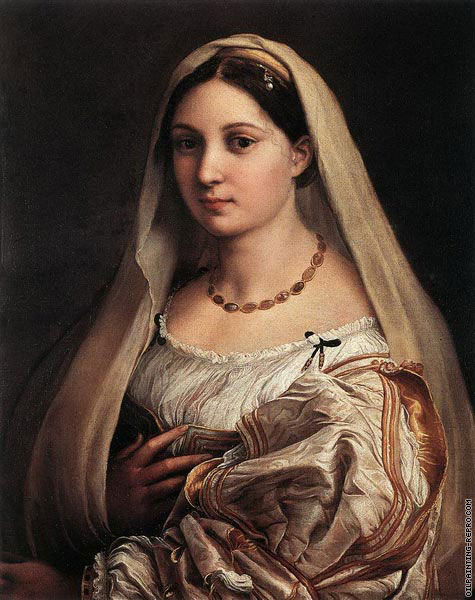 Woman with a veil (Raffaello)