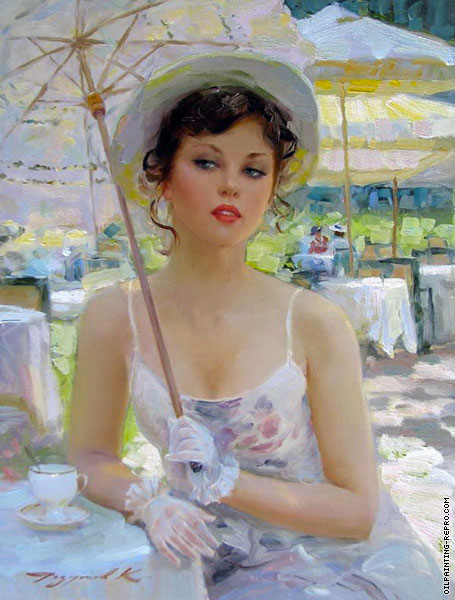 Cafe in The Bagatelle Garden (Razumov)