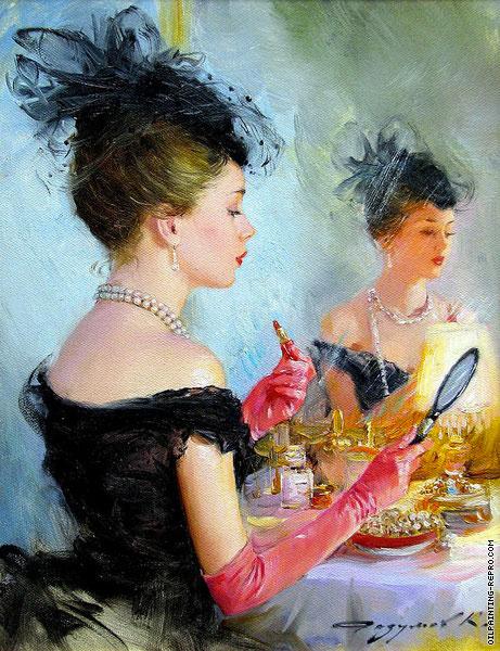 In Front of the Mirror 1 (Razumov)