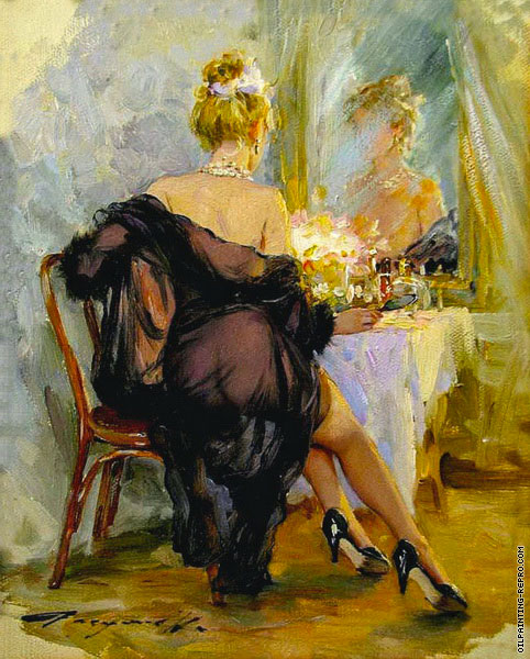 In Front of the Mirror 4 (Razumov)