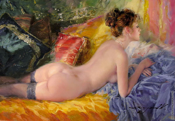 Elegant Lying in Neglected (Razumov)