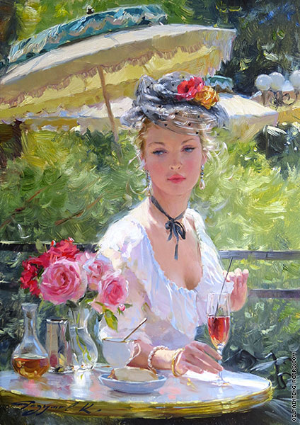 Elegant in The Bagatelle Garden (Razumov)