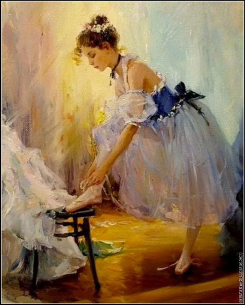 Getting Ready for the Performance (Razumov)