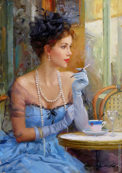 The Smoke-Cigarette (Razumov)