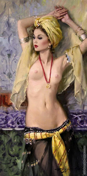 Odalisque with Shawl (Razumov)