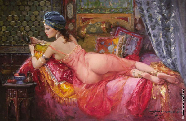 Odalisque with Mirror (Razumov)
