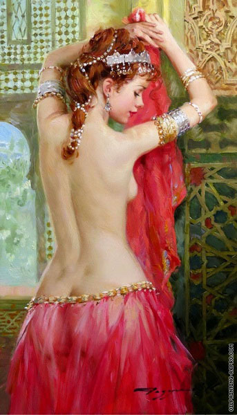 Odalisque near the Window (Razumov)