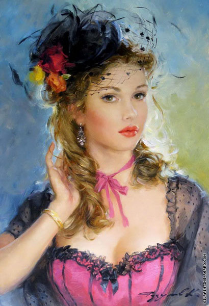 Portrait with Black Hat (Razumov)