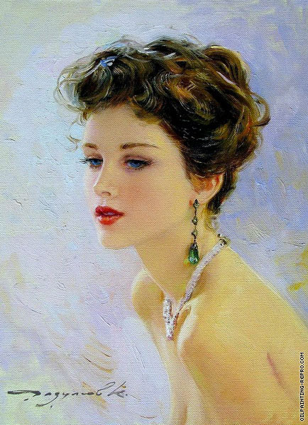Portrait with Jewelry (Razumov)