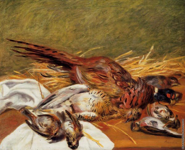 Pheasants - Canepetiere and Thrush (Renoir)