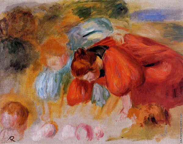 Study for the croquet game (Renoir)