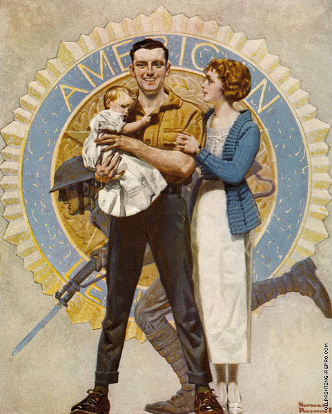 American Father's Day (Rockwell)