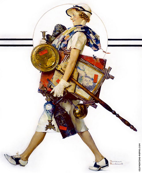 Antique Hunter (Rockwell)