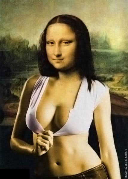 Mona Lisa XXL (after Da Vinci)