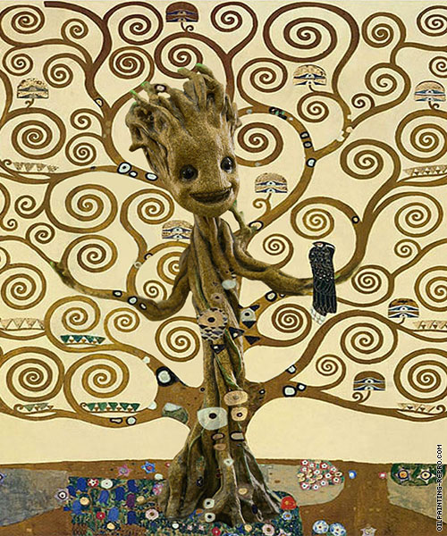 The Tree of Groot (After Klimt)