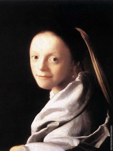Portrait of a young woman (Vermeer)