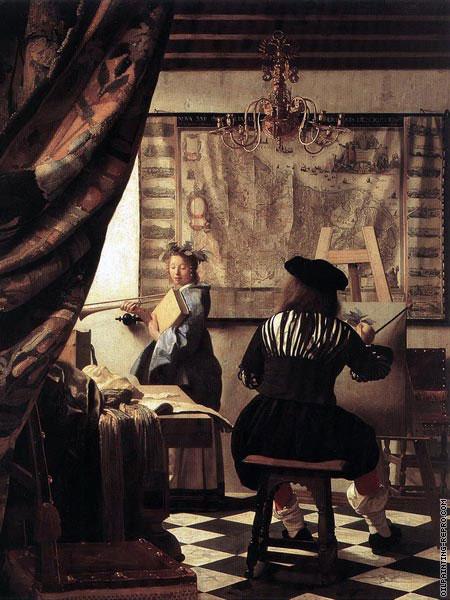 The art of painting (Vermeer)