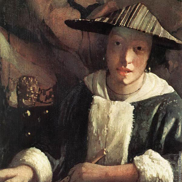 Young girl with a flute (Vermeer)